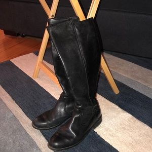 Lacoste Shoes - Lacoste Tall Riding Boots